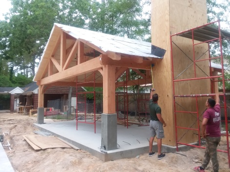 Texas Architectural Timbers » Timber Frames